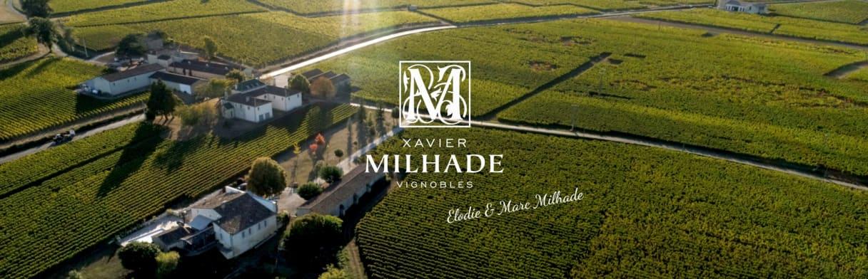 Logo Xavier Milhade Vignobles