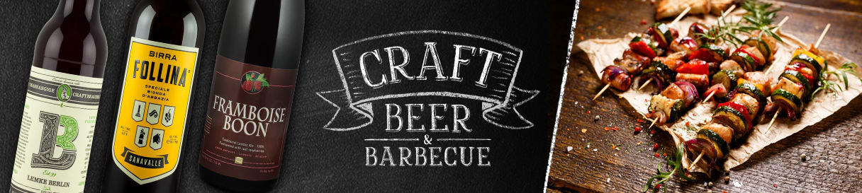 Craft Beer zum Barbecue