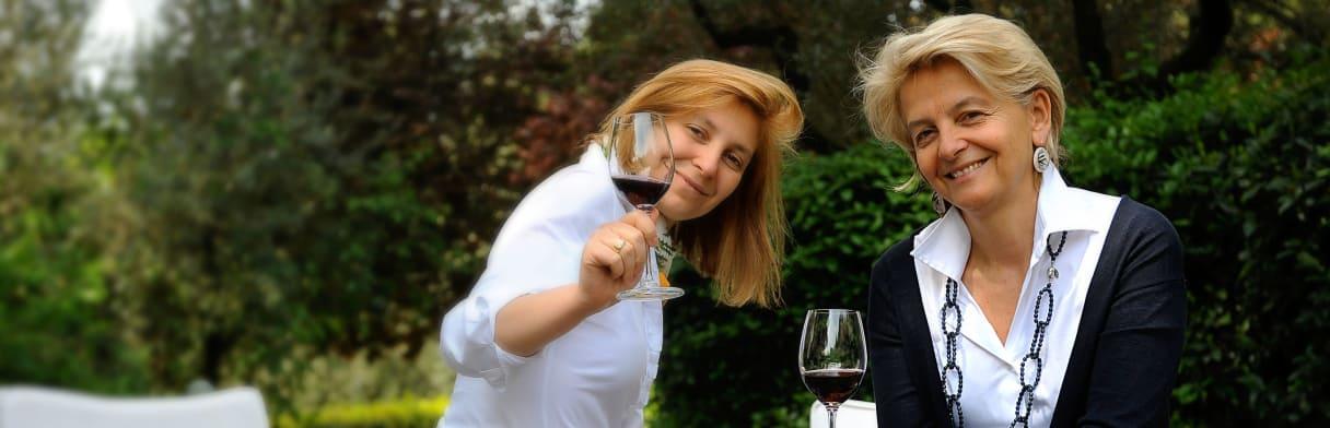 Lungarotti Winzerinnen Chiara & Teresa Lungarotti