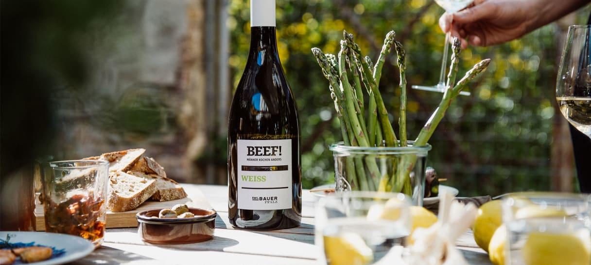 BEEF Weiss Wein 2019 - Chardonnay, Pinot Blanc, Viognier, Sauvignon Blanc