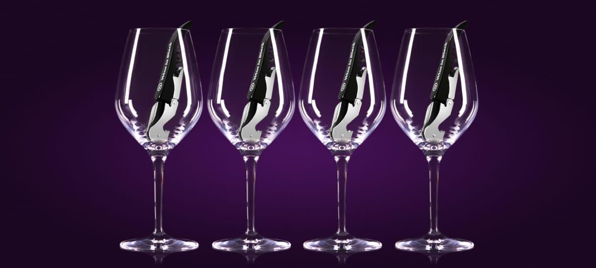 Accessoires vins  Wine in Black