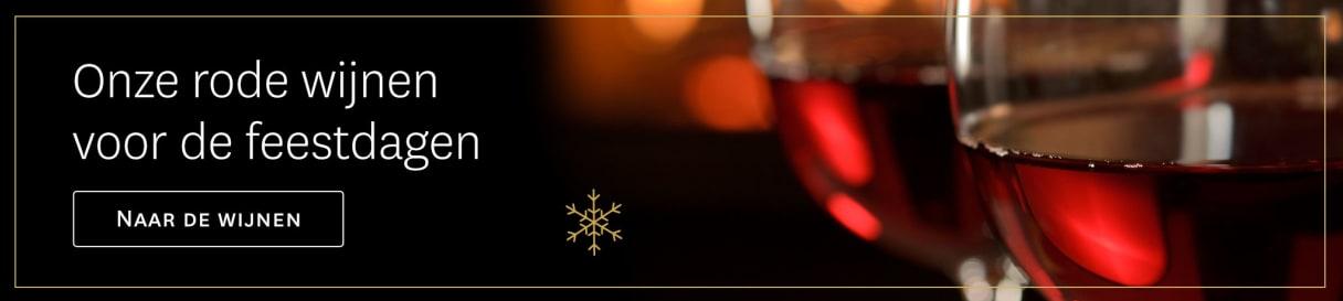 Rode wijnen voor de feestdagen