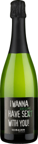 """Emil Bauer Riesling Brut """"I Wanna Have Riesling Se(x)kt With You!"""""""