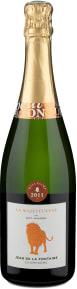 Champagne Jean de La Fontaine 'La Majestueuse' Brut Millésime 2011