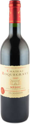 Château Roquegrave 'Cru Bourgeois' Médoc 2005