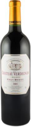 Château Verdignan 'Cru Bourgeois' Haut-Médoc 2001