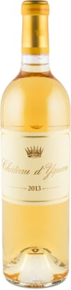 Château d'Yquem Premier Grand Cru Classé Supérieur Sauternes 2013