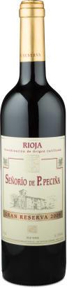 Bodegas Hermanos Peciña Rioja Gran Reserva 'Señorío de P. Peciña' 2009