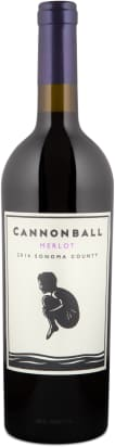 Cannonball Merlot Sonoma County 2014