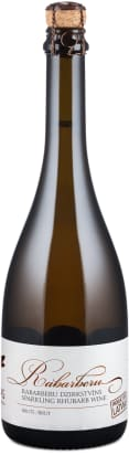 Abavas Sparkling Rhubarb Wine 'Rabarberu' Brut