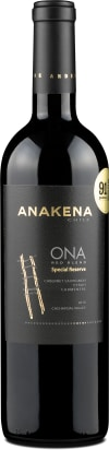 Anakena 'Ona Red Blend Special Reserve' Cachapoal 2014