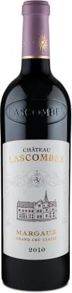 Château Lascombes Deuxième Grand Cru Classé Margaux 2010