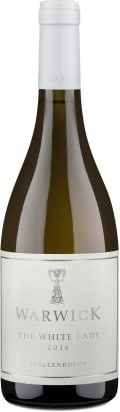 Warwick Estate Chardonnay 'The White Lady' Stellenbosch 2016