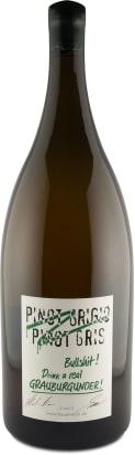 5 Liter-Flasche Emil Bauer 'Pinot Grigio, Pinot Gris, Bullshit' Drink real Grauburgunder 2017
