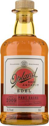 Opland Norsk Aquavit Edel 'Port Casks' 2009 - 0,5 l