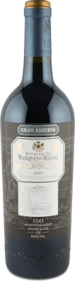 Marqués de Riscal Rioja Gran Reserva '150 Aniversario' 2010