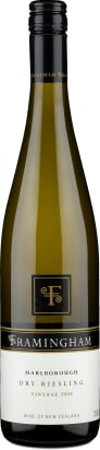 Framingham Wines Riesling Dry 'Late Release' Marlborough 2008