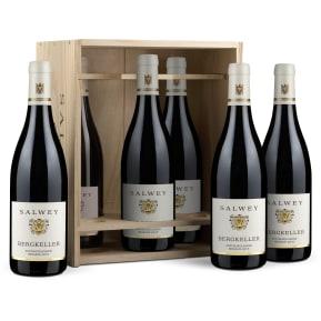 Caisse bois 6 bouteilles Salwey Spätburgunder Réserve 'Bergkeller' 2015