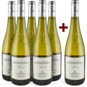 Offre '5+1' Domaine de Bellevue Sauvignon Blanc 'Tuffeau' Touraine 2014