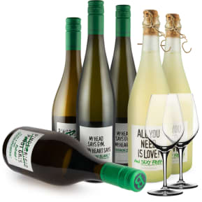 Wine in Black 'Power-Bauer-Set'+ 2 GRATIS Spiegelau Gläser