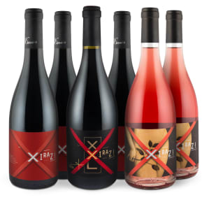 Wine in Black 'Xiraz! Family Set'