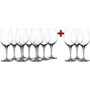 Wine in Black '9+3-Set' Spiegelau 'Authentis' Glas