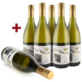 Offre 5+1 Les Volets Chardonnay Haute Vallée de l'Aude 2015