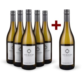 5+1-Set Ten Rocks Sauvignon Blanc Marlborough 2016