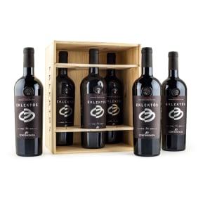 6 flessen Corte Medicea Cabernet Sauvignon 'Eklektós' Toscana 2014 in wijnkistje