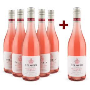 5+1-Set Delheim Pinotage Rosé 2017