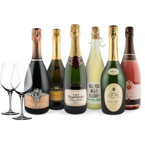 Wine in Black 'Sexy Sparkling-Set' + 2 Gratis Spiegelau-Gläser