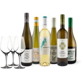 Wine in Black 'Summer in the City-Weißwein-Set' + 3 Gratis Spiegelau-Gläser
