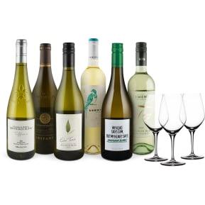 Wine in Black 'Sauvignon Blanc Lover-Set' + 3 Gratis Spiegelau-Weingläser