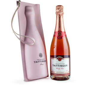 Champagne Taittinger Prestige Rosé Brut + Gratis Original-Kühltasche