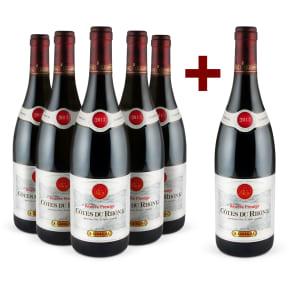 Offre 5+1 E.Guigal 'Réserve Prestige' Côtes du Rhône 2013
