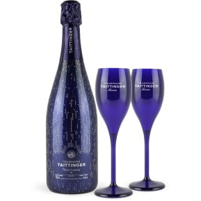 Champagne Taittinger 'Nocturne' Sec City Light Edition + 2 verres offerts