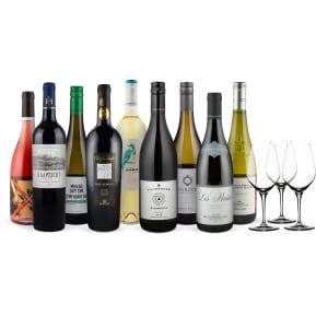 Wine in Black Siegerset 'Mundus Vini' + 3 Gratis Spiegelau-Weingläser