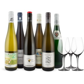 Wine in Black 'Riesling-Freaks-Set' + 3 Gratis Spiegelau-Gläser