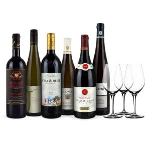 Wine in Black 'Dinner-Set'+3 Gratis-Spiegelau-Gläser