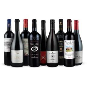 Wine in Black '9er-Rotwein-Favoriten-Set 2017'
