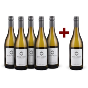Offre 5+1 Ten Rocks Sauvignon Blanc Marlborough 2017