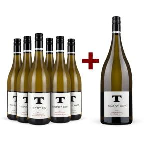 Offre 6 bt. Tinpot Hut Sauvignon Blanc Marlborough 2017 + Magnum 2016 offert