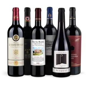 Wine in Black 'Bestseller-Rotwein-6er-Set'
