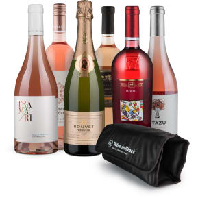 Wine in Black 'La Vie en Rosé-Set' + Kühlmanschette