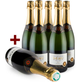 Offre 5+1 Champagne Brut 'Tradition'