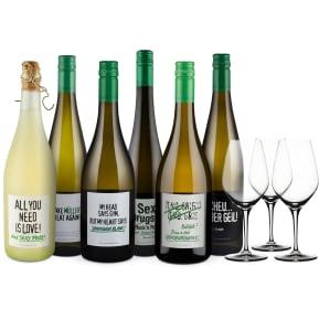 Wine in Black 'Power-Bauer-Brüder-Set' + 3 Gratis-Spiegelau-Gläser