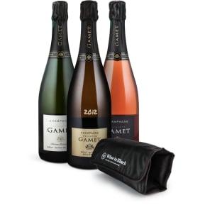 3er-Set Champagne Philippe Gamet + Gratis Kühlmanschette