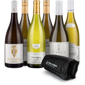 Wine in Black 'Charming-Chardonnay-Set'+Gratis Kühlmanschette