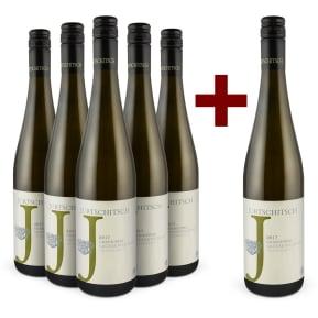 5+1-Set Jurtschitsch Grüner Veltliner 'Grashüpfer' 2017