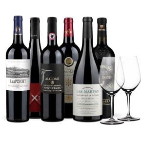 Wine in Black 'Rotwein-Starterkit' & 2 Gratis-Spiegelau-Gläser